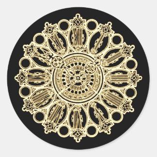 Cara de reloj de la suposición del Victorian de St Etiquetas