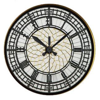 Cara de reloj de Londres Big Ben