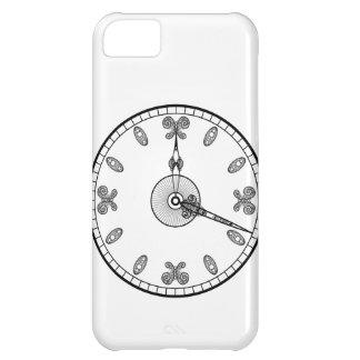 Cara de reloj funda para iPhone 5C
