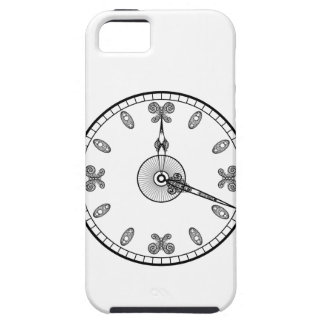 Cara de reloj funda para iPhone SE/5/5s