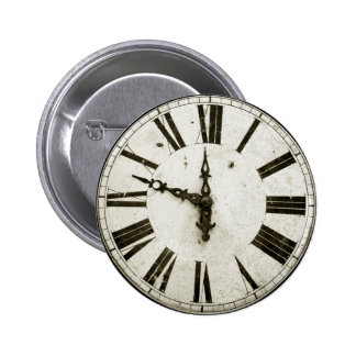 Cara de reloj pins