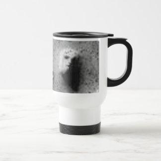 Cara de riego del Agujero- del melio en Marte-Cydo Tazas De Café
