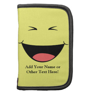 Cara de risa del amarillo de Kawaii Organizador