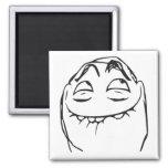 Cara de risa Meme cómico de la rabia de PFFTCH Imán Para Frigorifico