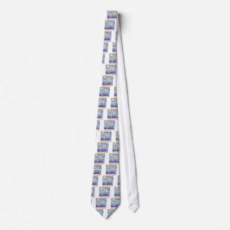 Cara del amor del matrimonio corbata personalizada