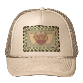 Cara del ángel gorras de camionero