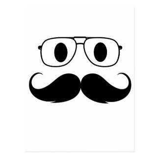 cara del bigote postal