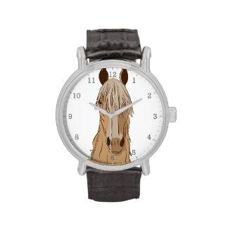 Cara del caballo de Paso Fino Relojes De Pulsera