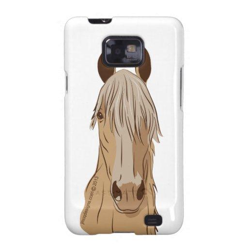 Cara del caballo de Paso Fino Samsung Galaxy SII Funda