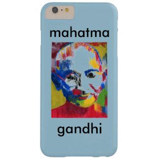Cara del caso del iphone 6 de Mahatma Gandhi de Funda Barely There iPhone 6 Plus