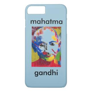 Cara del caso del iPhone 7 de Mahatma Gandhi de Funda iPhone 7 Plus