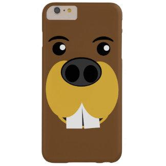 Cara del castor funda para iPhone 6 plus barely there