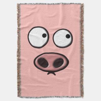 Cara del cerdo manta