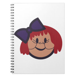 Cara del chica cuadernos