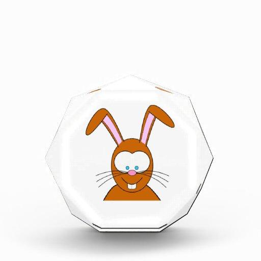 Cara del conejo de conejito del dibujo animado