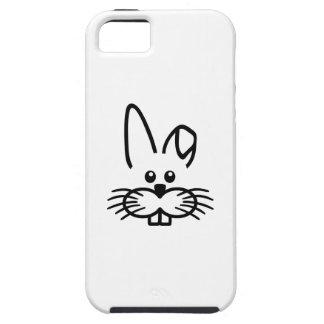 Cara del conejo de conejito iPhone 5 Case-Mate fundas