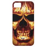 Cara del cráneo de Iphone 5 apenas allí - en el fu iPhone 5 Funda