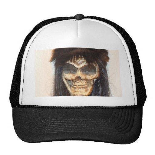Cara del cráneo gorras de camionero
