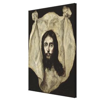 Cara del Cristo Lona Estirada Galerías