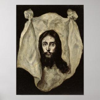 Cara del Cristo Póster