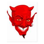 Cara del diablo postal
