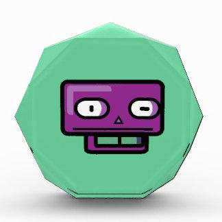 Cara del dibujo animado del robot