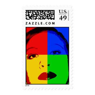 Cara del estallido sellos