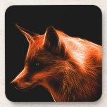 Cara del Fox rojo Posavaso