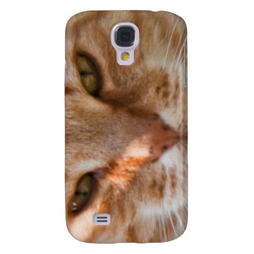 Cara del gato carcasa para galaxy s4
