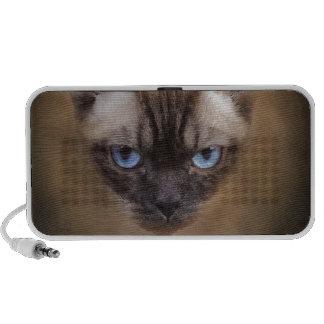 Cara del gato de Devon Rex Altavoz De Viajar