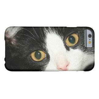 Cara del gato del smoking funda barely there iPhone 6