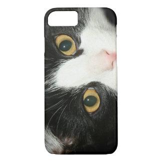 Cara del gato del smoking funda iPhone 7