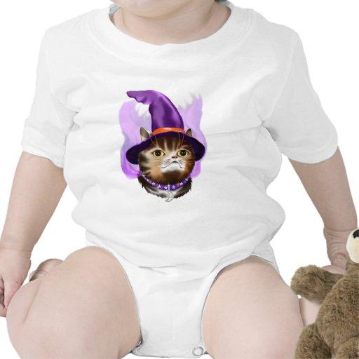 Cara del gato del *Witch Camiseta