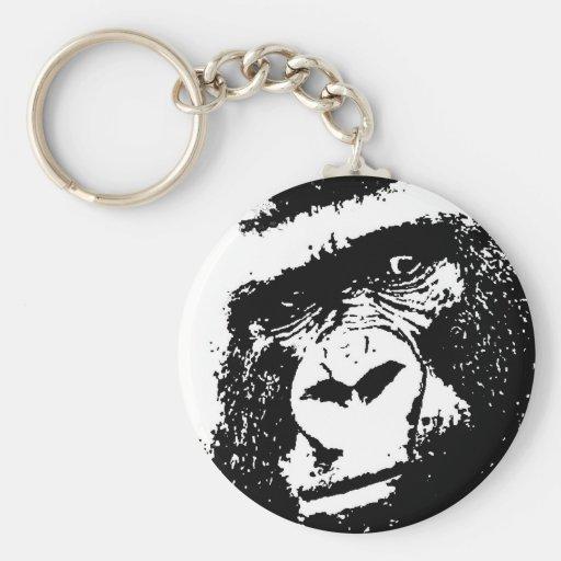 Cara del gorila de BW Llaveros