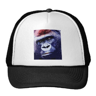 Cara del gorila gorro de camionero