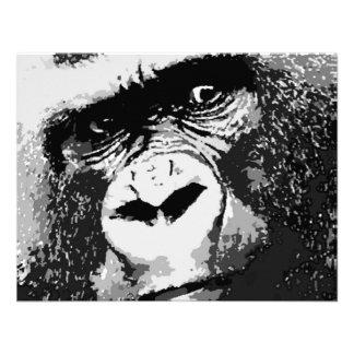 Cara del gorila comunicados