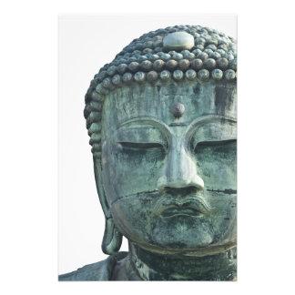 Cara del gran Buda de Kamakura también Cojinete