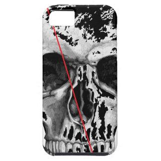 Cara del horror de la muerte del triángulo del iPhone 5 funda