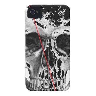 Cara del horror de la muerte del triángulo del Case-Mate iPhone 4 cárcasas