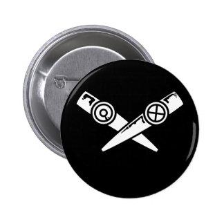 Cara del Kazoo Pins