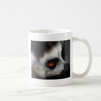 Cara del Lemur Ringtailed Taza De Café