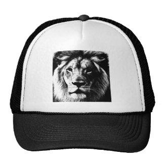 Cara del león de BW Gorros Bordados