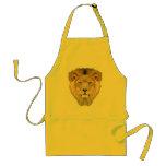 Cara del león delantales