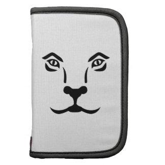 Cara del león organizador