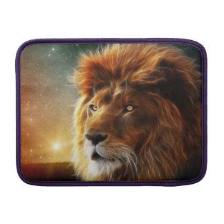 Cara del león. Rey de la abstracción de las Funda Macbook Air