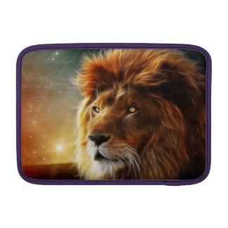 Cara del león. Rey de la abstracción de las Fundas MacBook