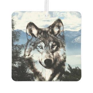 Cara del lobo