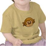 cara del mono camiseta