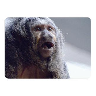 """Cara del mono de Saki Invitación 5"""" X 7"""""""