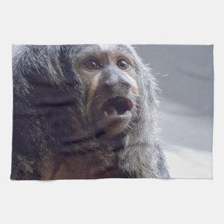 Cara del mono de Saki Toallas